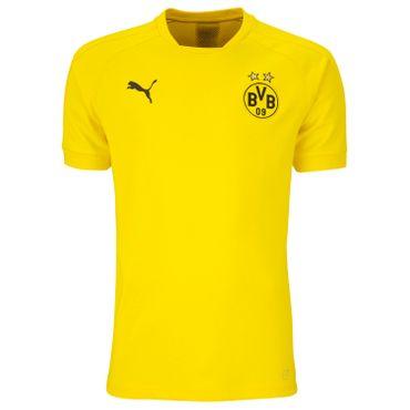 Puma - BVB Borussia Dortmund Herren Casual Tee 17/18 - 751792-01 - gelb