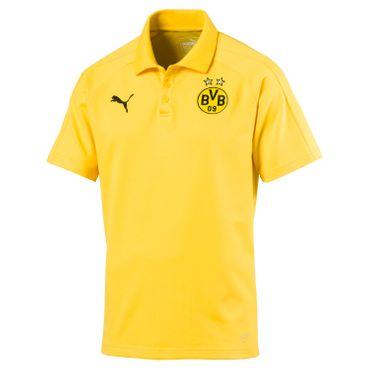 Puma - BVB Borussia Dortmund Herren Casual Poloshirt - 751790-01 - gelb
