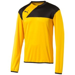 Puma Esquadra - Herren Training Sweat - 654380-07 gelb/schwarz