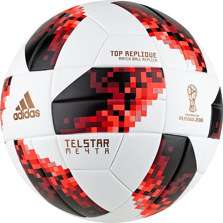 adidas Fifa Fußball WM 2018 Knockout Top Replique Ball Replica - CW4683 - Gr.5