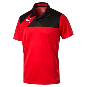 Puma Esquadra - Herren Leisure Polo Poloshirt - 654385-14 rot