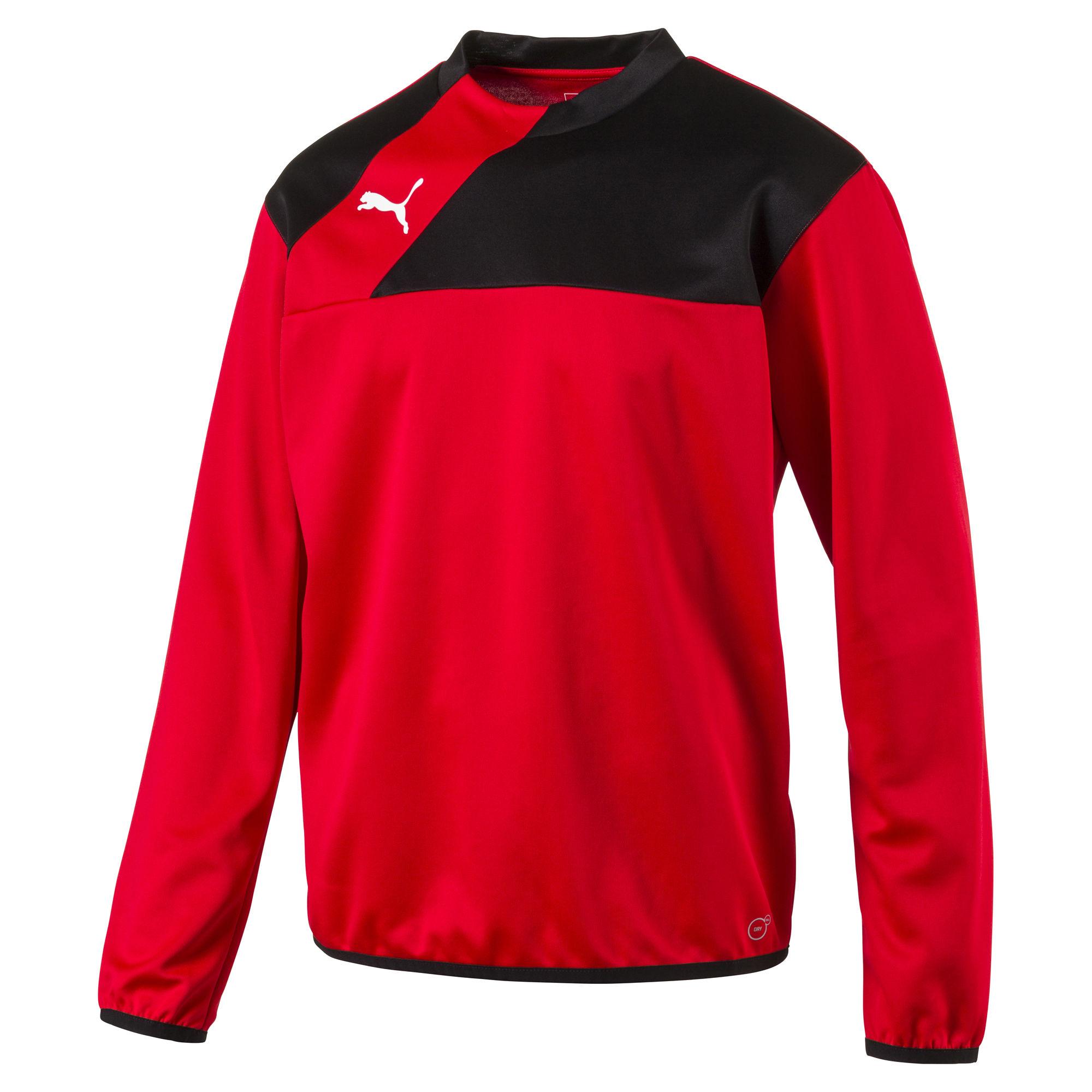 Puma Esquadra Herren Training Sweat 654380 14 rot