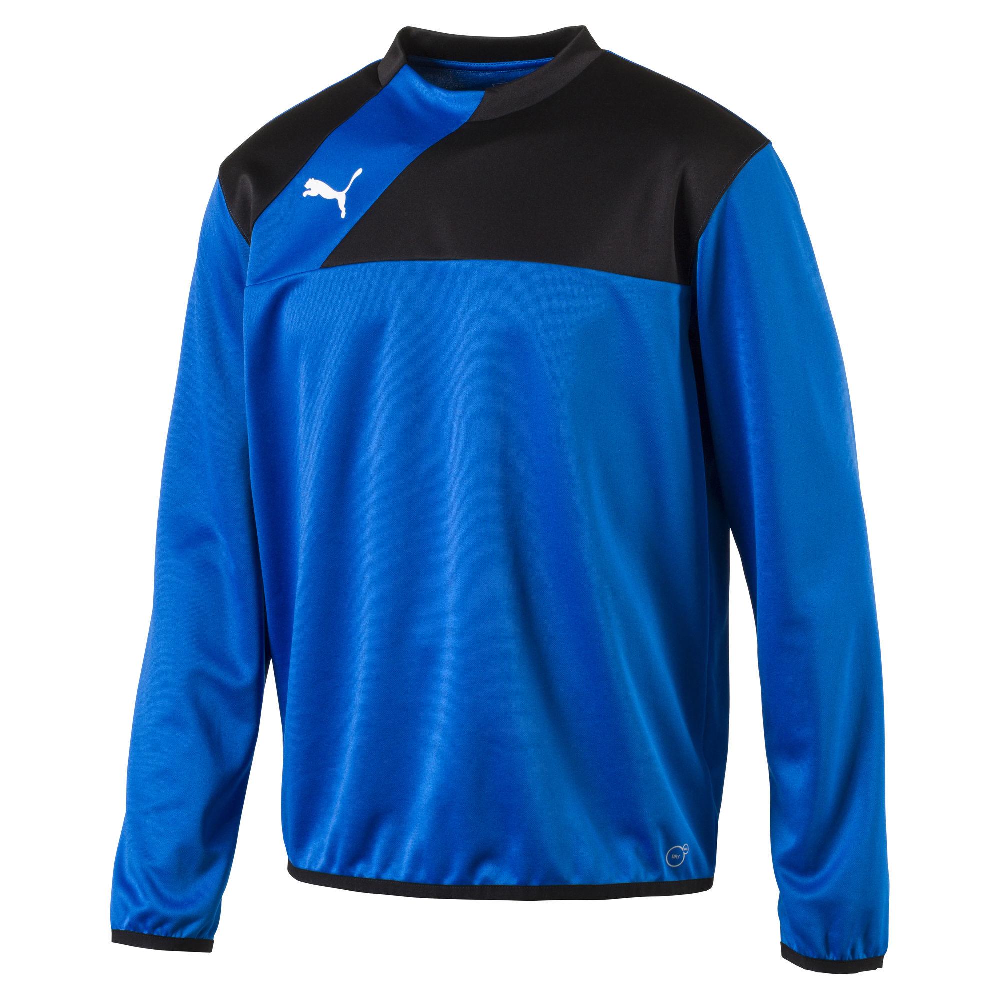 Puma Esquadra Herren Training Sweat 654380 23 blau