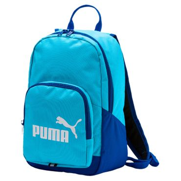 Puma Phase Small Backpack Kinder Rucksack Tasche - 74104-25 aquarius