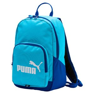 72aba9b561ad4 Puma Phase Small Backpack Kinder Rucksack Tasche - 74104-25 aquarius
