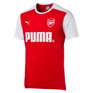Puma FC Arsenal London Herren Fan T-Shirt - 751980-01 rot/weiß