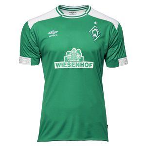 Umbro SV Werder Bremen Kinder Heimtrikot 18/19 - 79150U grün