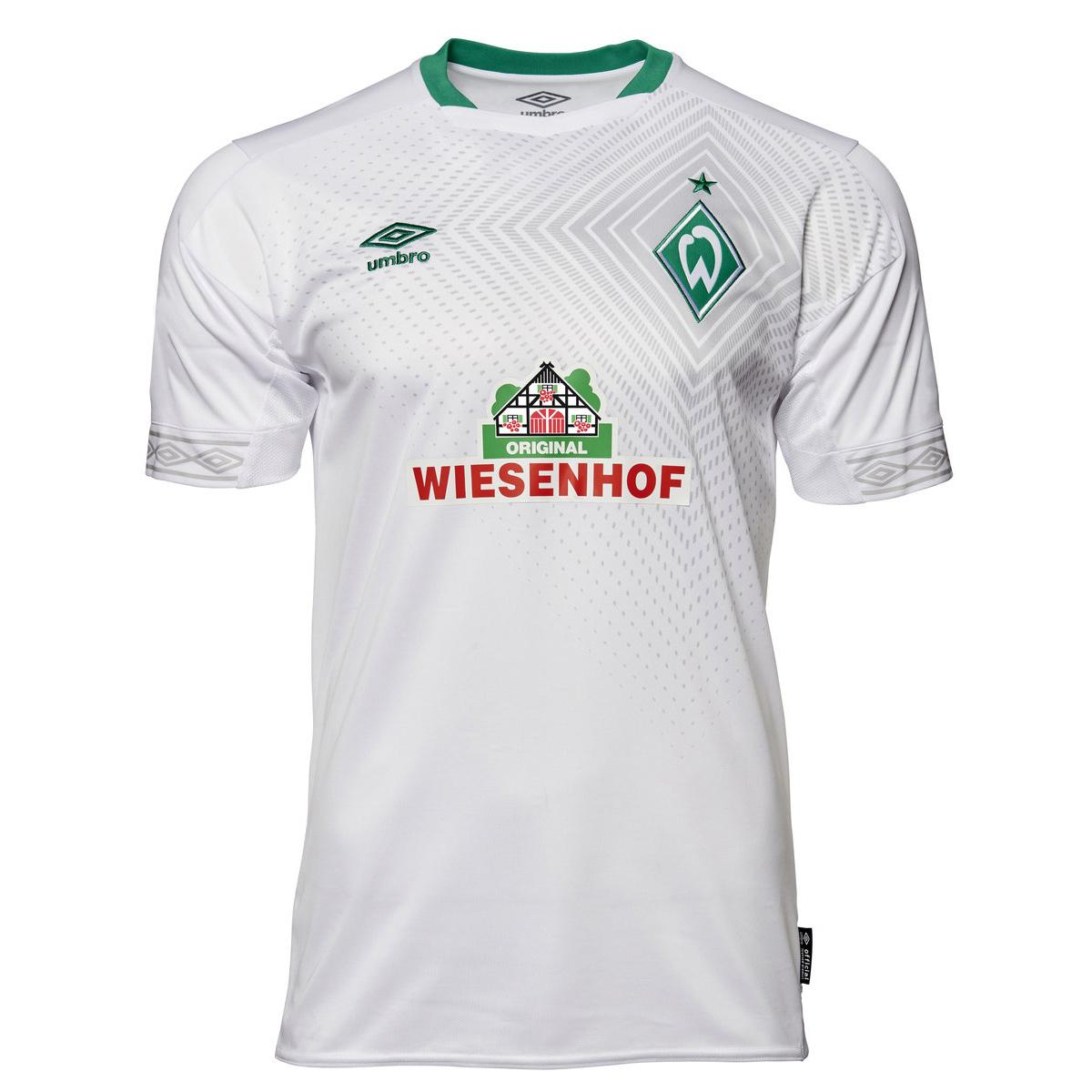 2e9f542e Umbro SV Werder Bremen Herren Event 3rd Ausweichtrikot 18/19 - 79164U weiß