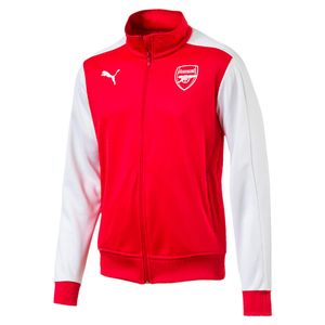 Puma FC Arsenal London T7 Herren Jacke - 751982-01 rot/weiß