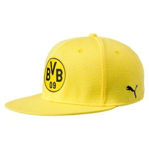 Puma BVB Borussia Dortmund Stretchfit Logo Cap Mütze - 21371-01 gelb