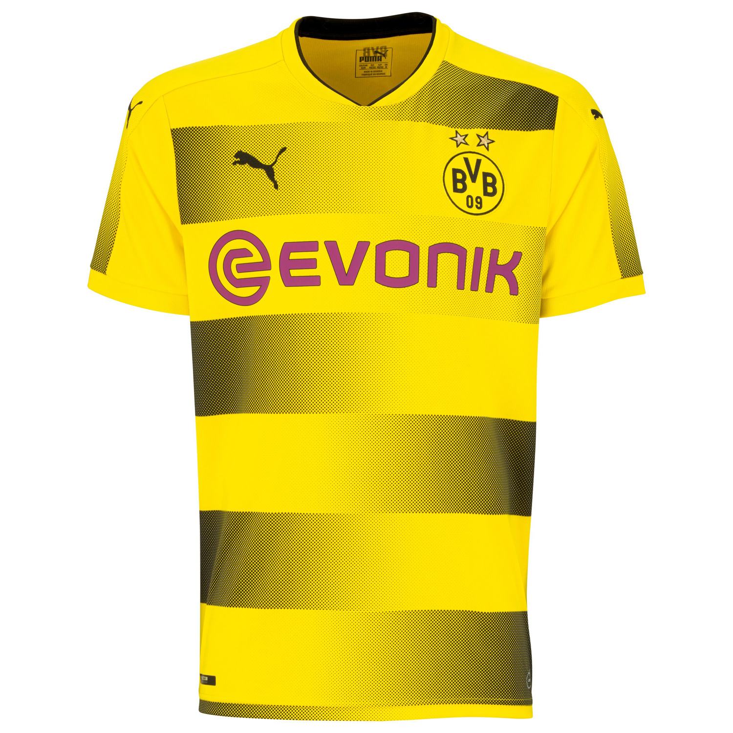 puma bvb borussia dortmund herren promo heimtrikot 17 18. Black Bedroom Furniture Sets. Home Design Ideas