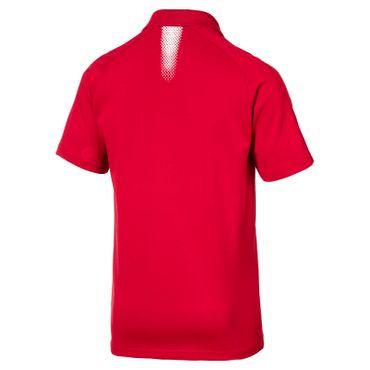 Puma Arsenal London Kinder Casuals Performance Poloshirt Polo - 751729-05 rot