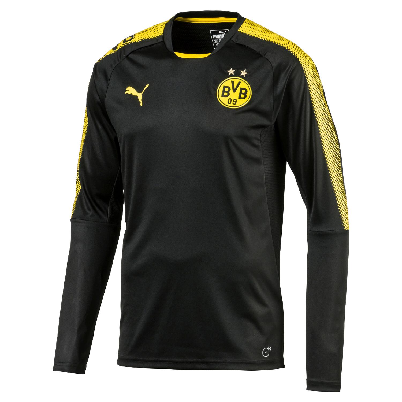 Puma BVB Borussia Dortmund Herren Langarm Train...