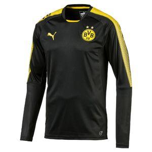Puma BVB Borussia Dortmund Herren Langarm Trainingsshirt ohne Sponsor -751768-02