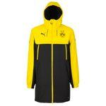 Puma BVB Borussia Dortmund Kinder Bench Jacket - 750687-01 gelb/schwarz 001