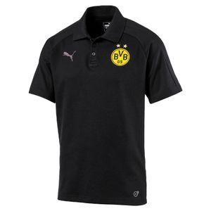 Puma BVB Borussia Dortmund Herren Casual Poloshirt - 751790-02 schwarz