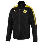 Puma BVB Borussia Dortmund Softshelljacke ohne Sponsor - 751772-02 schwarz 001