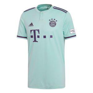 adidas FC Bayern München Herren Away Jersey Auswärtstrikot 18/19 - CF5410 grün