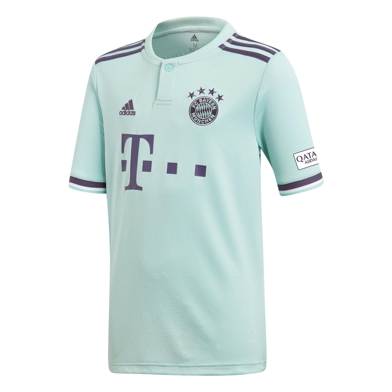 adidas FC Bayern München Kinder Auswärtstrikot Away Jersey 18/19