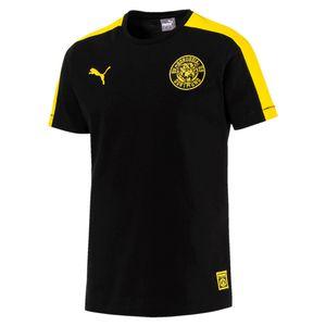 Puma BVB Borussia Dortmund - Herren T7 Tee T-Shirt Shirt - 754104-02 schwarz