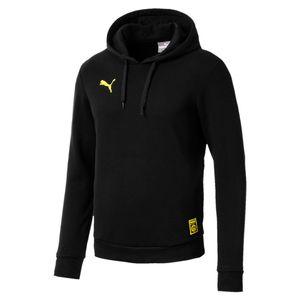 Puma BVB Borussia Dortmund - Herren Premium Stencil Hoody - 754110-02