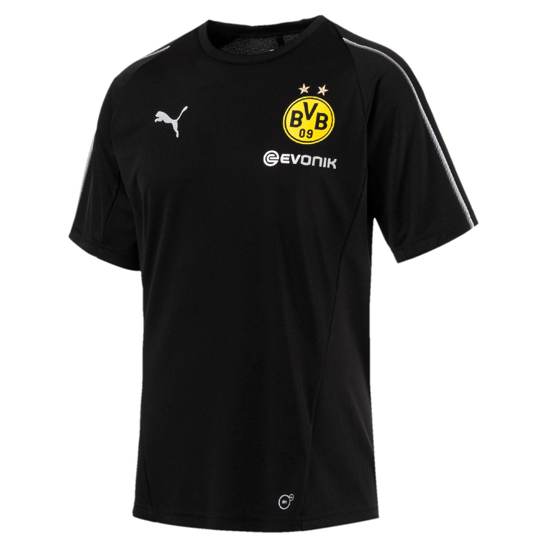 Puma BVB Borussia Dortmund - Herren Training Shirt mit Sponsor