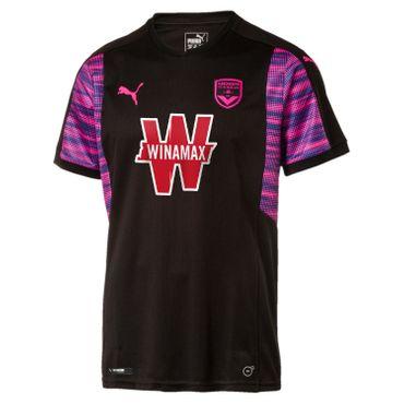 Puma FC Girondins Bordeaux - Herren Away Shirt Auswärtstrikot - 751861-05 schwarz/pink