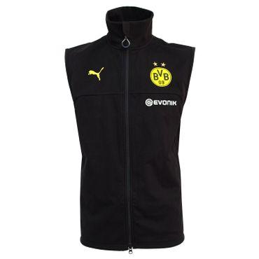 Puma BVB Borussia Dortmund - Herren Softshell Veste - 751785-02 schwarz