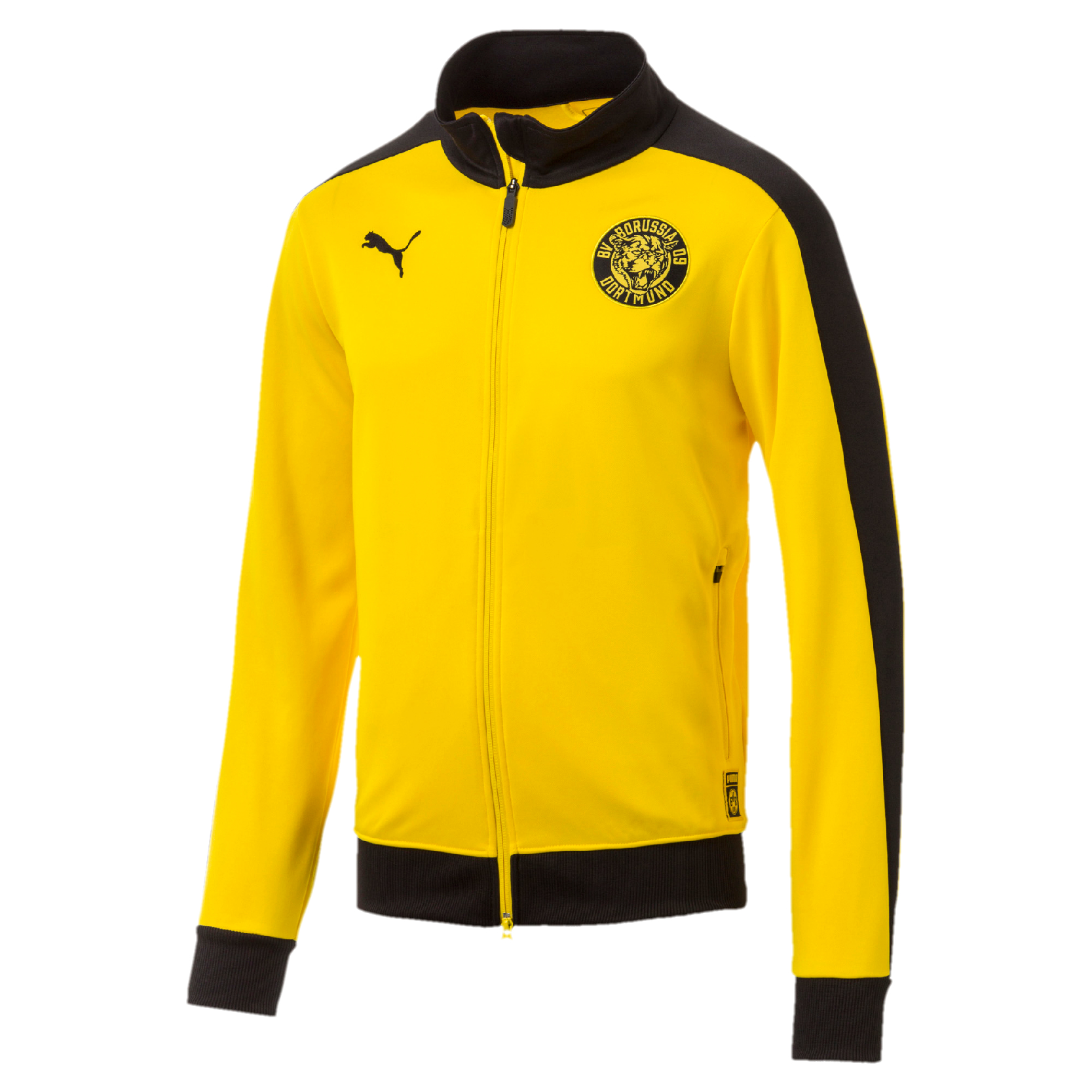 T7 01 Herren Bvb Puma Sweatjacke Track Borussia Dortmund Gelb 754101 Jacket e9HEDIYW2