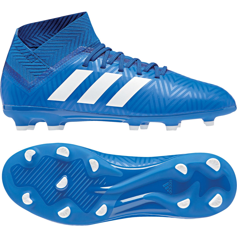 adidas Nemeziz 18.3 FG Kinder Fußballschuhe Nockenschuhe DB2351 blau