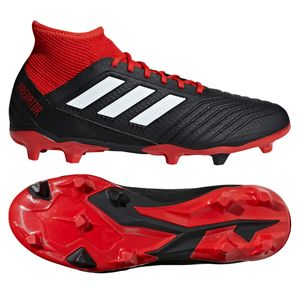 adidas Predator 18.3 FG - Herren Fußballschuhe Nockenschuhe - DB2001 schwarz/rot
