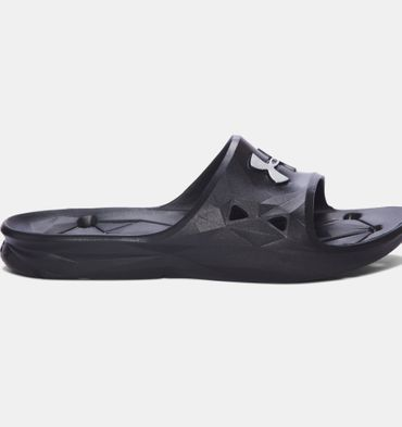 Under Armour Slides Locker III SL  - Herren Badeschlappen - 1287325-001 schwarz/weiß