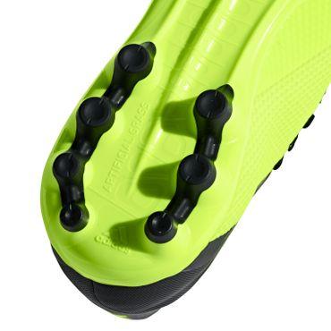 adidas X 18.3 AG - Herren Fußballschuhe - AQ0707 gelb/schwarz
