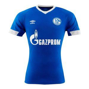 Umbro FC Schalke 04 Kinder Heim Trikot Home Jersey 18/19 - 79278U blau