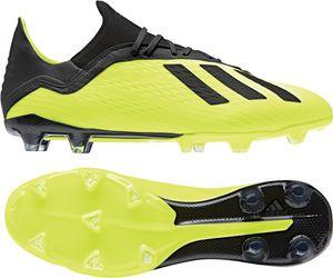 adidas X 18.2 FG - Herren Fußballschuhe Nockenschuhe - D2180 gelb/schwarz