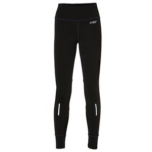 North Bend ExoWarm - Damen Runningtight Runninghose - 136503-9500 schwarz