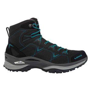 Lowa Ferrox GTX MID - Damen Wanderschuhe Trekking Schuhe - 520615-9977 schwarz/petrol