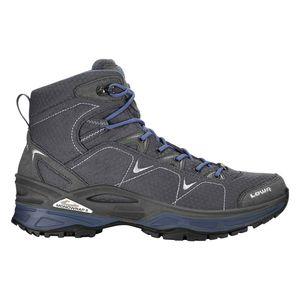 Lowa Ferrox GTX MID - Herren Wanderschuhe Trekking Schuhe - 510615-9704 graphite/blau