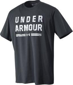 Under Armour Classic Script - Herren Fitness Freizeit T-Shirt - 1325303-001 schwarz