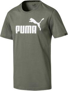 Puma Style No.1 Herren Freizeit Fitness Logo T-Shirt - 838241-88 grau
