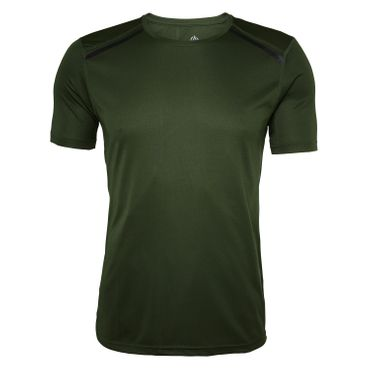 North Bend ExoCool - Herren Trainiggsshirt Running Shirt - 136498-6005 khaki