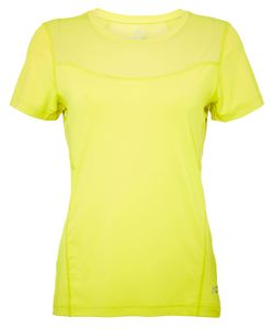 North Bend ExoCool - Damen Trainingsshirt Running Shirt - 136502-1055 gelb