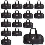 15x adidas Tiro Teambag - Small - Sporttasche mit Schuhfach - B46128 schwarz 001