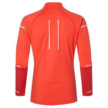 Asics Lite-Show Winter Damen Longsleeve Half-Zip Running Top - 2012A007-600 rot