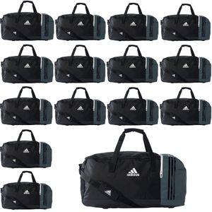 15x adidas Tiro Teambag - Large - Sporttasche ohne Bodenfach - B46126 schwarz