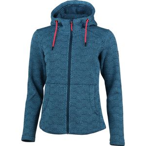 High Colorado Bergamo - Damen Strickfleece Jacke - 136244-5006 petrol