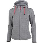 High Colorado Bergamo - Damen Strickfleece Jacke - 136244-7000 grau 001