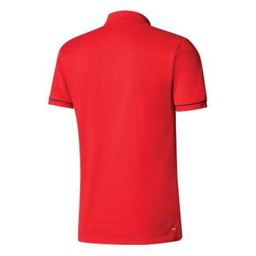 adidas Tiro 17 Herren Cotton Polo Shirt - BQ2680 rot