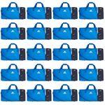 20x adidas Tiro Teambag - Large - Sporttasche mit Schuhfach - BS4743 blau 001