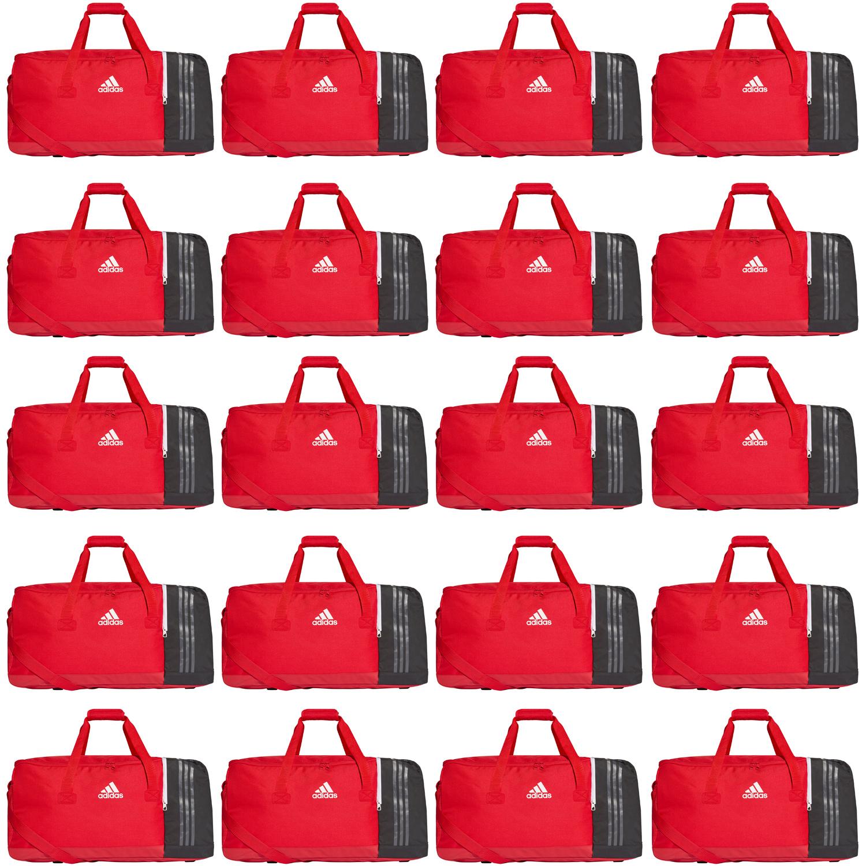 5a5ac86d0c842 20x adidas Tiro Teambag - Large - Sporttasche mit Schuhfach - BS4744 rot 001
